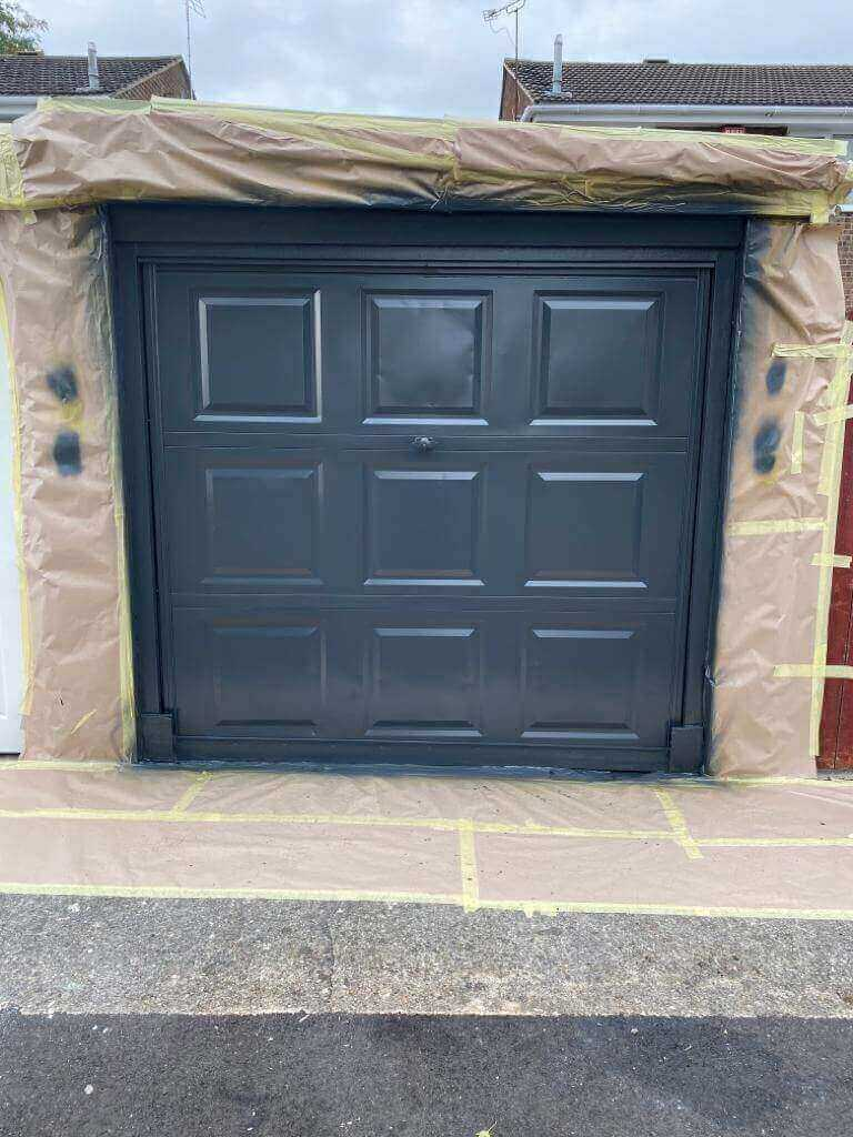 Garage Door Repairs - During