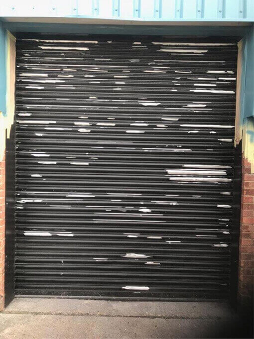Roller Shutter Door Refurbishment Potton
