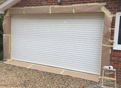 Garage Door Painting Leighton Buzzard