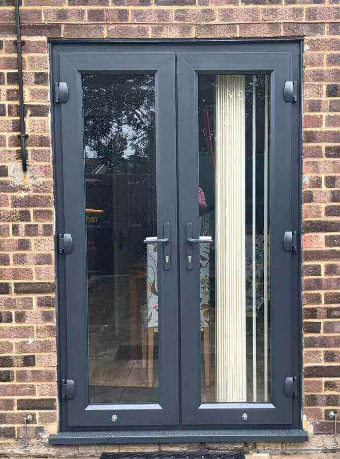After UPVC Door Refurbishment Higham Ferrers