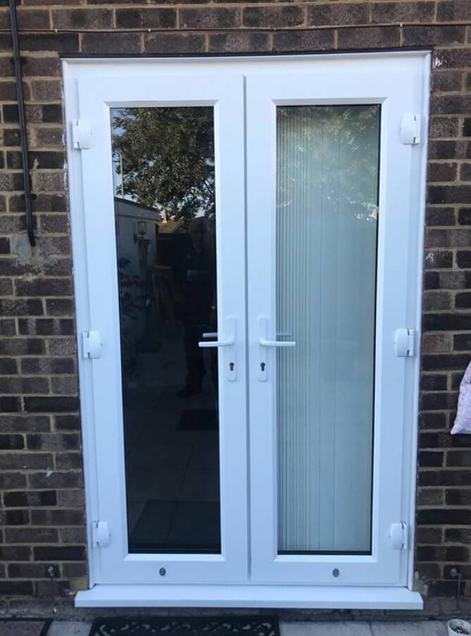 Before UPVC Door Refurbishment Higham Ferrers