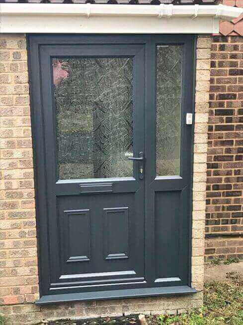 uPVC Front Door Refurbishment After Higham Ferrers